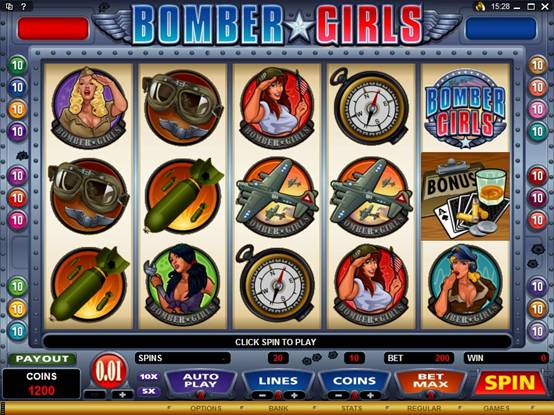 Bomber Girls Video Slot