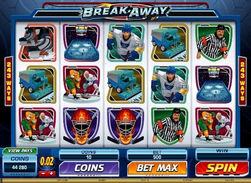 Break Away Video Slot
