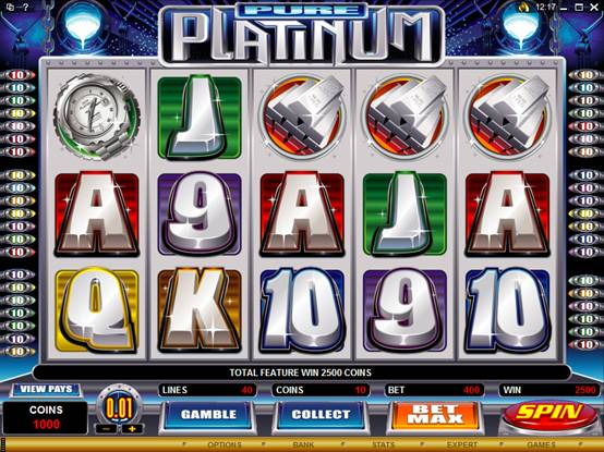 Pure Platinum Video Slot