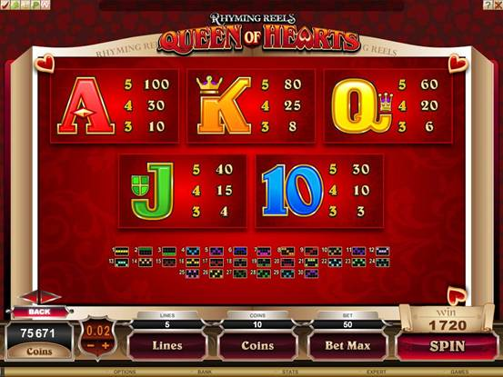 slot machine online games queen of hearts online spielen