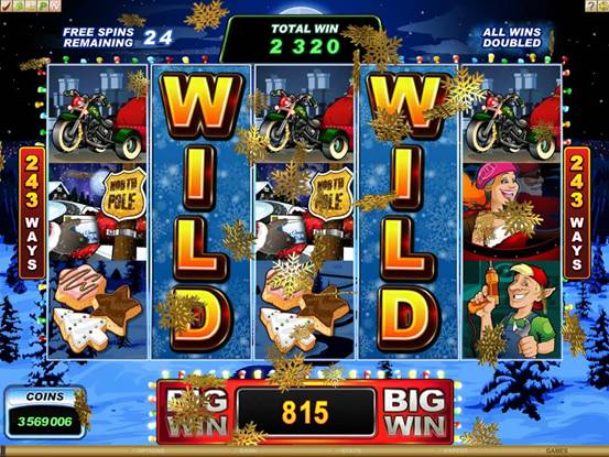 A Christmas Slot Machine - Play Online for Free Instantly
